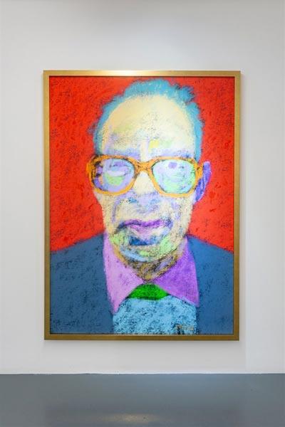 نقد نمایشگاه فرشید مثقالی در گالری اعتماد