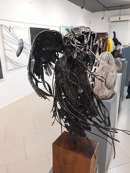 گزارش نمایشگاه سالگرد گالری نوران مازندران