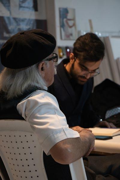 گفتگوی محمد ستونه با احمد نصرالهی