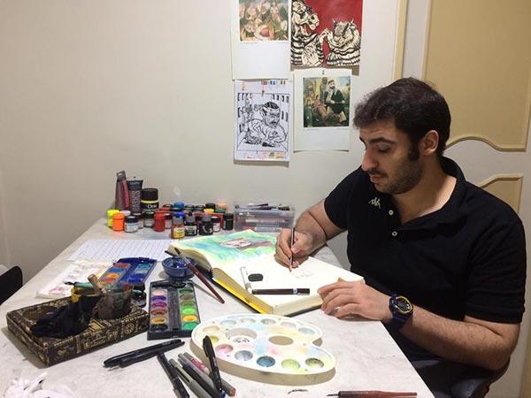 مصاحبه با امیرحسین اکبری علویجه