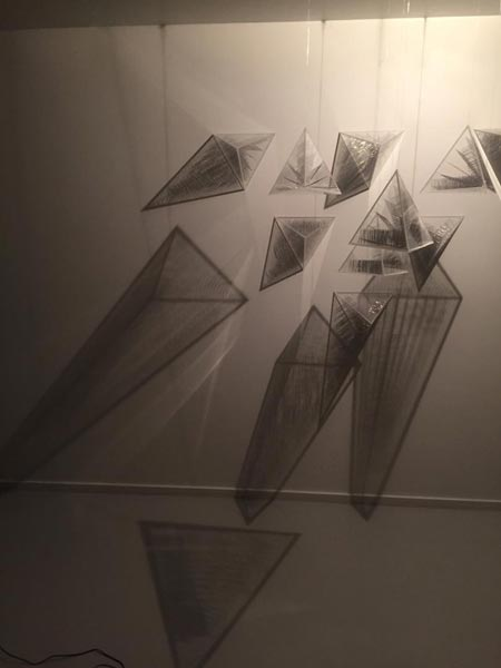 نقد نمایشگاه لیلی عامری در گالری والی