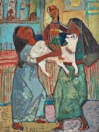 تحیه حلیم نقاش مصری