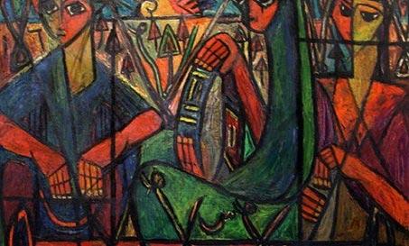 عفت ناجی، نقاش اسطورههای مصر