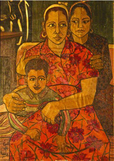 جاذبیه سری، نقاش مصری