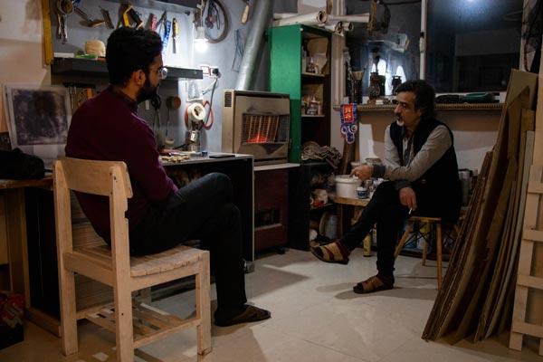 گفتگوی محمد ستونه با ناصر شاکری