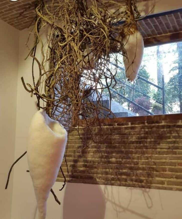 بیکرانگی محیا گیو گالری پروژه های آران