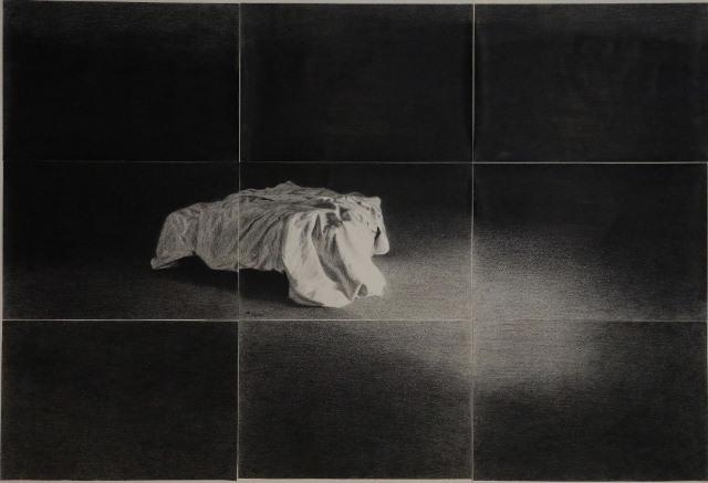 دهلیز نمایشگاه سمانه یوسفی در گالری والی