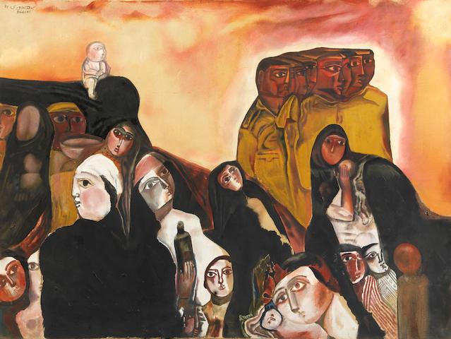 جورج البهجوری هنرمندان عرب و مصر