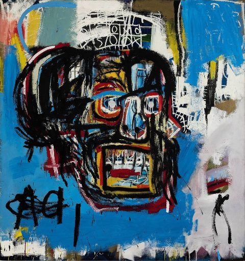 رقابت ابر دیلر هنری اثر ژان میشل باسکیت