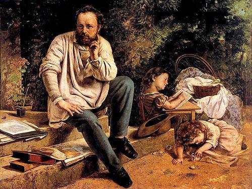 نظریههای فلسفی هنر گوستاو کوربه