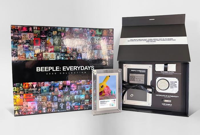 اثر بیپل در بازار هنر رمز ارزها