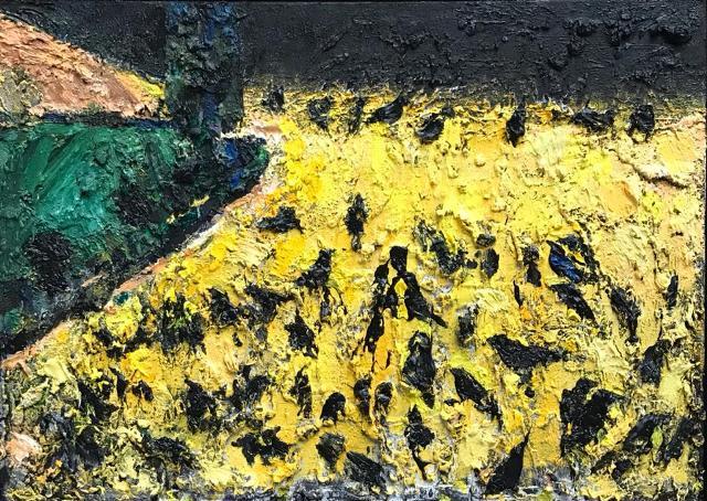 نقد نمایشگاه غلاغ گالری آتبین