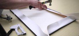 رویهسازی پارچه برای نقاشی رنگروغن