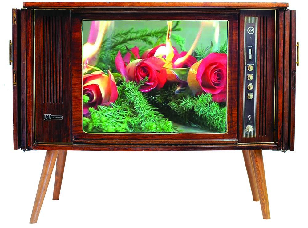 سیمین کرامتی ویدیو اینستالیشن (تلویزیون و دستگاه نمایش ویدیو)