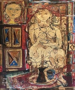 عمر النجدی هنرمند مصری و عرب